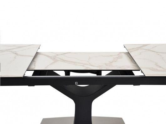 Tavolo Pranzo Allungabile Ceramica E Vetro Temperato Colby Tavoli Da Pranzo Tavolo Rotondo Vetro Stili Di Design