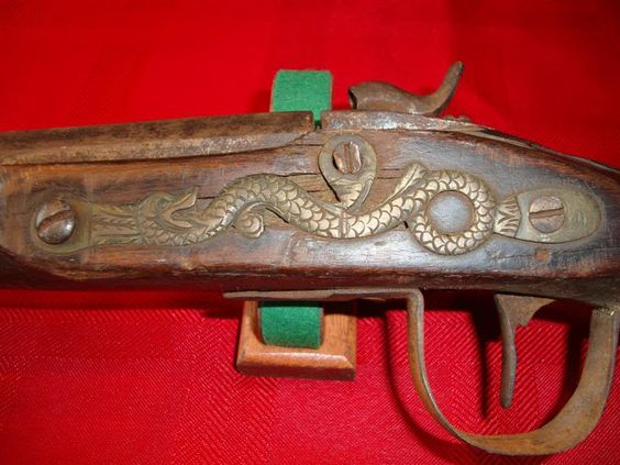 1836 Northwest Trade Gun, converted to percussion cap.