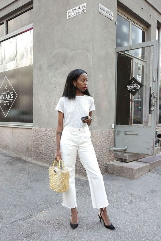 23 Opciones De Otro Infaltable! Todas Las Diferentes Opciones Para Usar Denim Blanco! | Cut & Paste – Blog de Moda