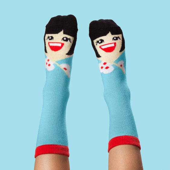 Yoko Mono Kids' Socks by ChattyFeet
