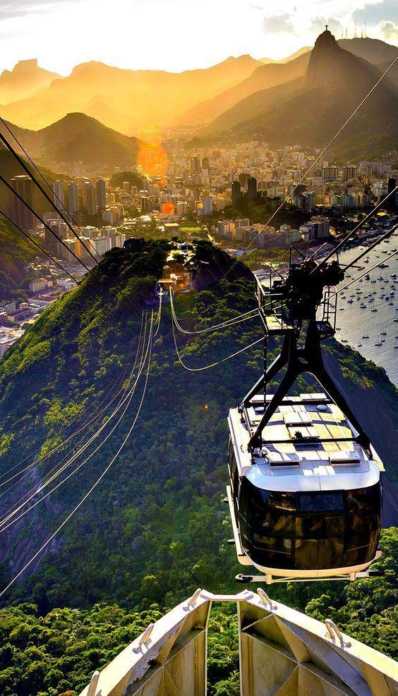 Rio De Janeiro Brazil Rio Riodejaneiro Brazil Cityscape