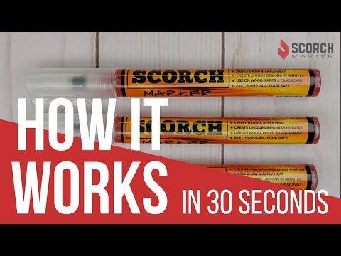 Scorch Marker Best Pyrography Wood Burning Pen Wood Burning Pen Easy Wood Burning Wood Burning Crafts