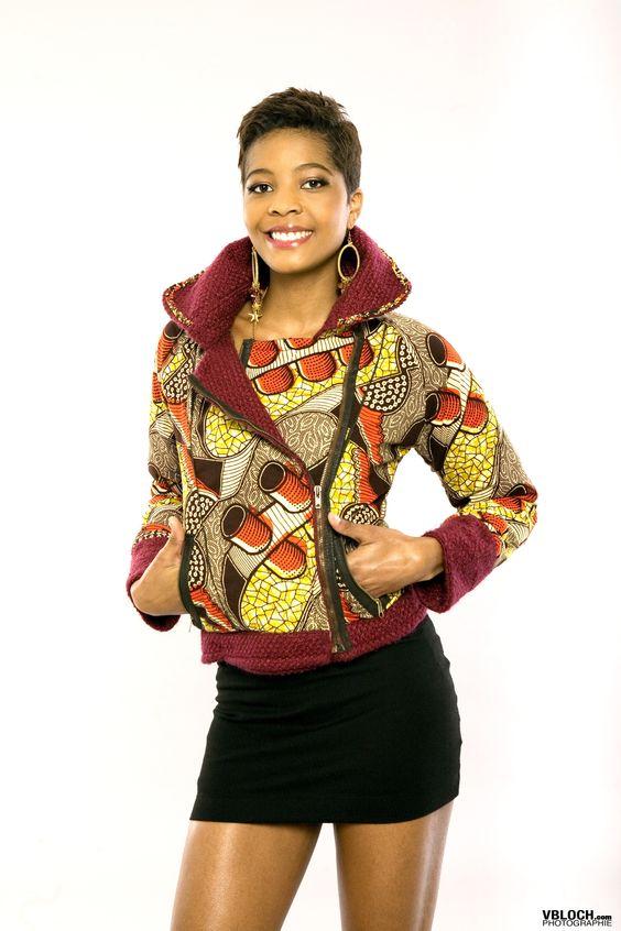 mansaya manteau perfecto wax african style pinterest vestes bomber mode africaine et. Black Bedroom Furniture Sets. Home Design Ideas