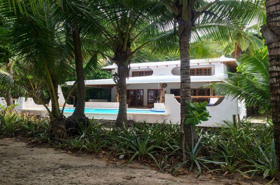 The white house Hotel Tropico Latino Santa Teresa Costa Rica #travel #vacation #family: