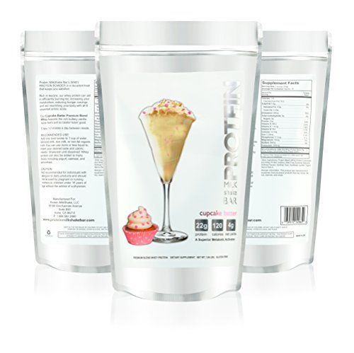 Cupcake Batter Protein Powder For Women - Voted Best Tasting Protein Powder - Creamy & Fluffy - 22g Protein | Low Carb | Gluten Free | Soy Free | rGBH Hormone Free | Naturally Sweetened with Organic Stevia | Formulated For Optimal Fat Loss - Reduces Appetite & Cravings, 1.06 lb