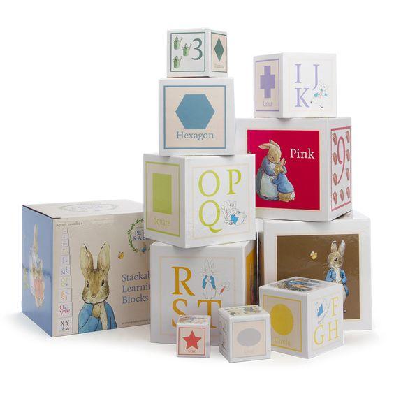 Building Blocks - Beatrix Potter Stackable Learning Blocks ...