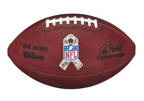 Official NFL Salute to Military Service Game Football