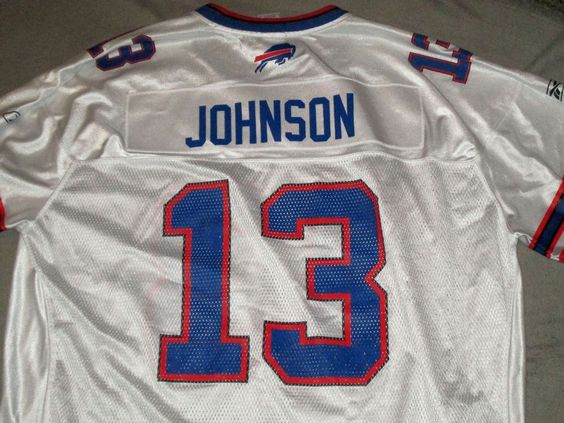 Buffalo Bills Steve Johnson Reebok NFL Equipment football jersey 2XL XXL #13…