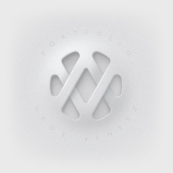 AV logo by Akos Venesz in Collection of 40+ Logos for Inspiration