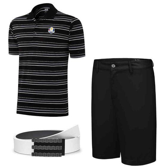 adidas ClimaLite Ryder Cup Black-Black | bruttopunkt.de
