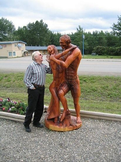 http://www.TravelPod.com - Chainsaw Carvings, Chetwynd, BC by TravelPod member Nocknock, from Dawson Creek, Canada