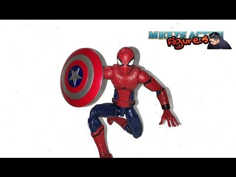 Action Figure Moive 3D Model Marvel Avengers Captain America Spider-man Iron Man