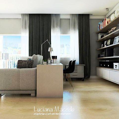 https://www.instagram.com/lucianamacedo.arquitetura/  No detalhe. Home Office. #art #arch #arquitectura #architecture #architect #arquiteturadeinteriores #arquiteturaeurbanismo #interiores #interiordesign #interiors #interiorstyling #desenho #design #3d #render #rendering #render_contest #3dvisualization #sketchup #home #decor #decoração #designhome #inspiration #instadesign #instaart #homeliving #office