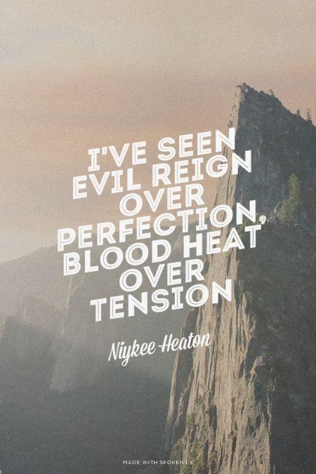 Niykee Heaton- Bad Intentions, Lyrics