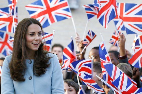 Enceinte de six mois, la princesse en sortie officielle à Londres, le 19 janvier, avant de s'envoler en famille pour l'île Moustique