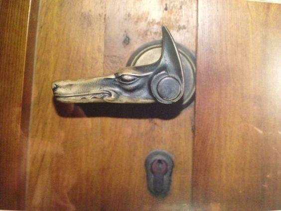 Badass dobe door handle - Prague