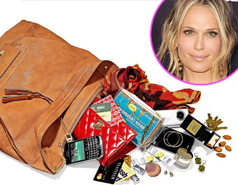 Project Accessory's Molly Sims: What's in My Bag?  CELEBRITY STYLE NOVEMBER 2, 2011 AT 5:29PM BY USWEEKLY STAFF