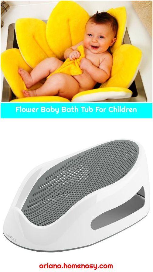 Flower Baby Bath Tub For Children In 2020 Baby Bath Tub Baby Bath Baby Bath Time