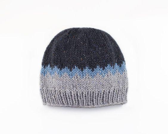 Knitted Beanie Fairisle Hat