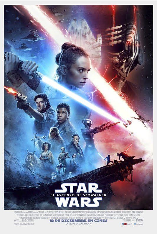 Star Wars El Ascenso De Skywalker 2019 De J J Abrams Pelicula De Star Wars Peliculas Completas En Castellano Fondos De Peliculas