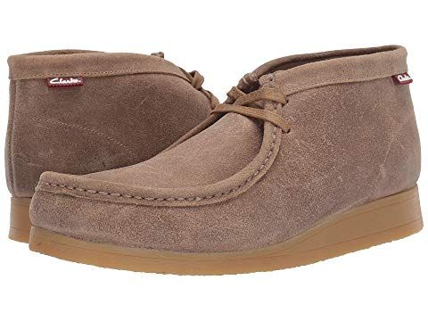 Clarks , Taupe Distressed Suede   ModeSens