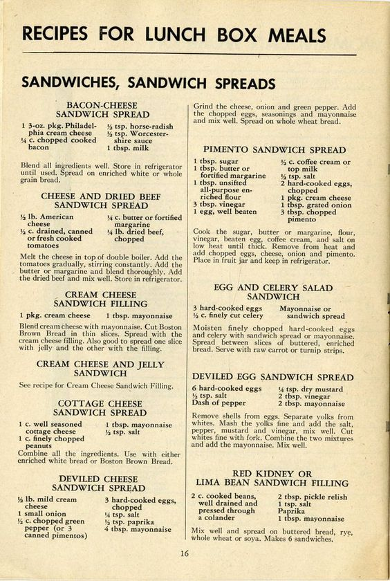 How to Pack Lunch Boxes for War Workers, 1943