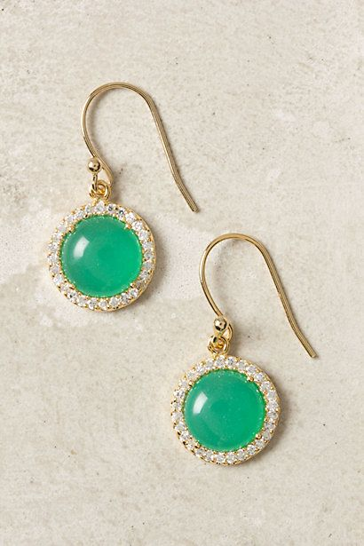 Marbled Eclipse Earrings #anthropologie