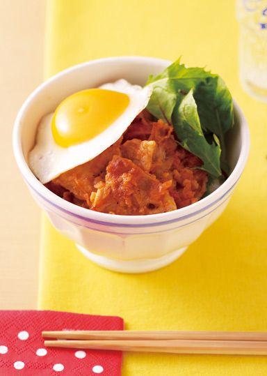 カフェ風トマトジンジャー豚丼 のレシピ・作り方 │ABCクッキングスタジオのレシピ | 料理教室・スクールならABCクッキングスタジオ