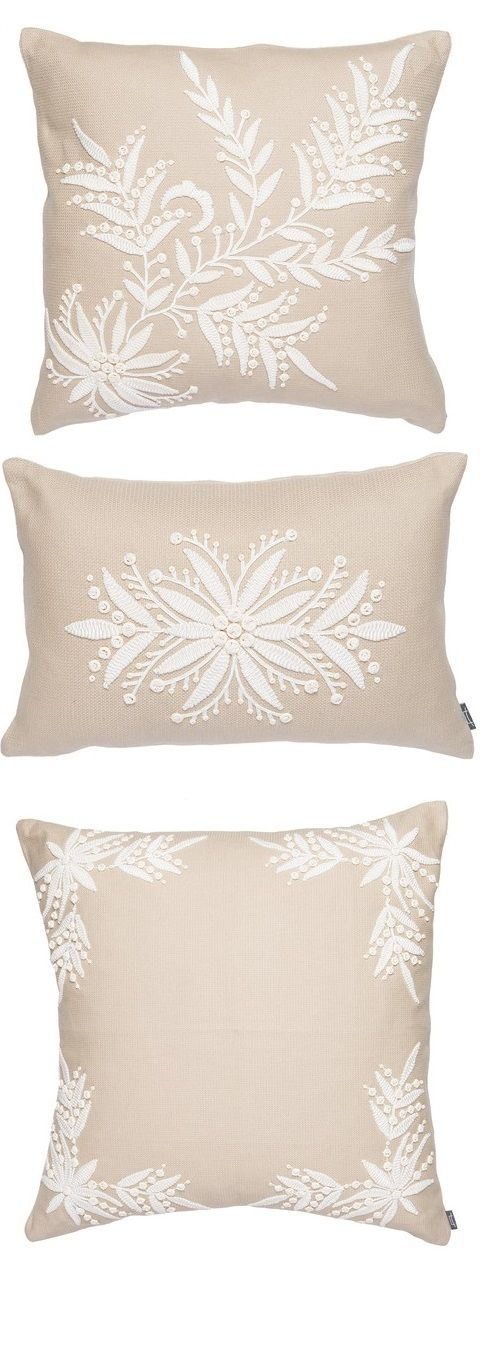 decorative throw pillow covers accent pillow couch toss sofa pillow 16x16 light blue silk pillow cover white bead embroidered french wedding pinterest