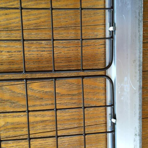 網戸 窓からの脱走対策 ワイヤーネット 猫 網戸 対策 網戸 猫 網戸