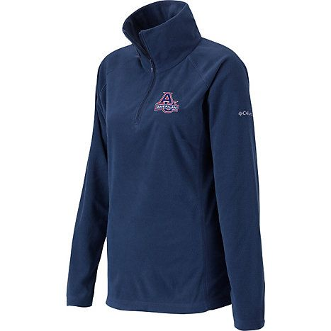 American University 1/4 Zip Women's Glacial Fleece | American University