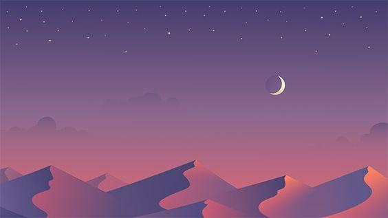 I Think That The Moon Is Very Light And Delightful Desktop Wallpaper Art Aesthetic Desktop Wallpaper Landscape Wallpaper