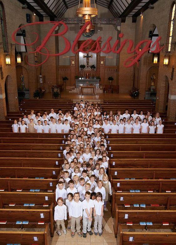 I love my son's school!  St. Francis of the Lakes Catholic School #catholic #cross  #blessings