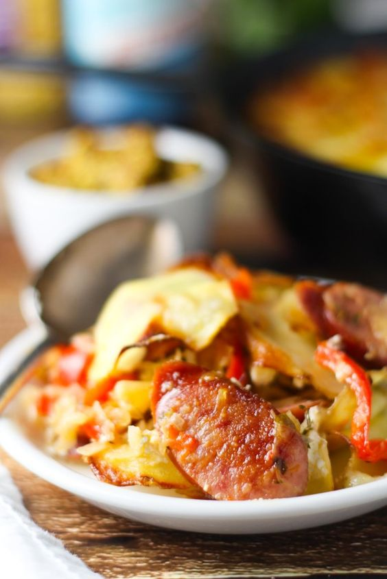 oktoberfest sausage and cabbage