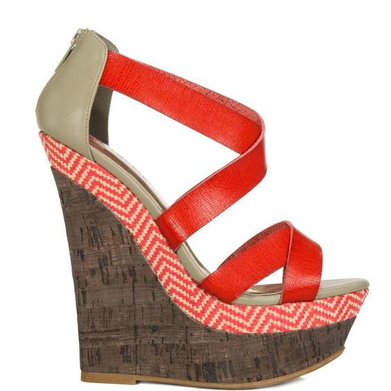 Skylar heels Red brand heels JustFab |Amazoning Heels|
