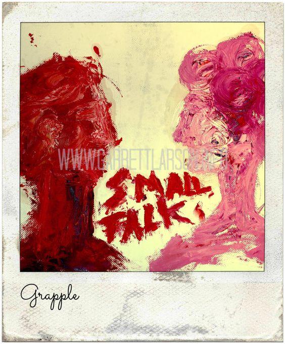 Small Talk by Garrett Larson  Original Fine Art by GrappleFineArt, $29.50 #art, #fineart