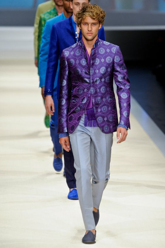 1970s Nehru style jacket | Funky Wedding Outfit Styles for Men | Function Mania | 7 NEW Looks for Grooms of 2018 Inspired by Pantone Colour of the Year!