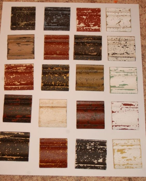More Killer Distressed Finish Color Combinations For