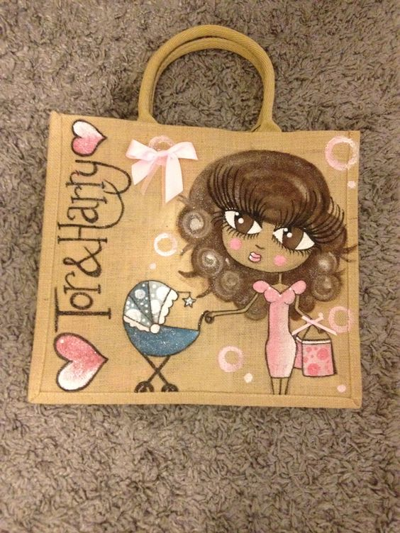 Claireabella style bag 'mum & baby'