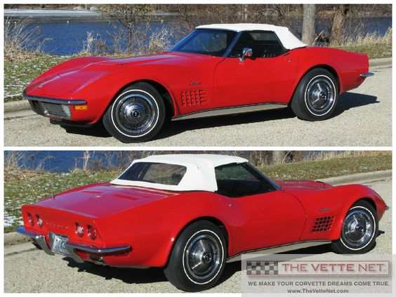 1971 Convertible Corvette