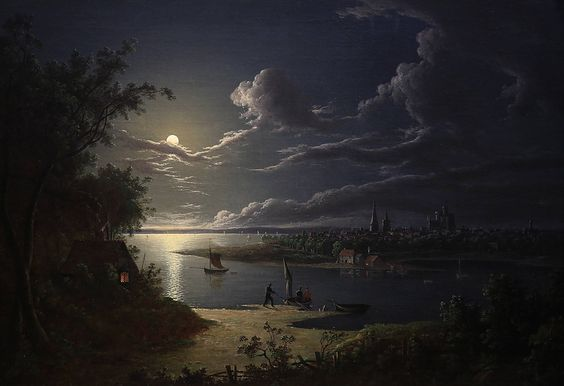 Moonlight Scene - Sebastian Pether