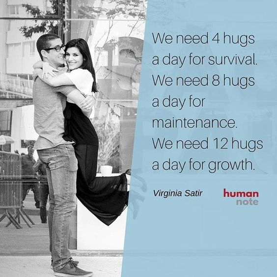 We hope you're getting enough hugs to grow :) http://ift.tt/1mmYsPv