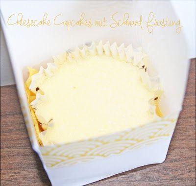 Cheesecake Cupcakes mit Schmandfrosting