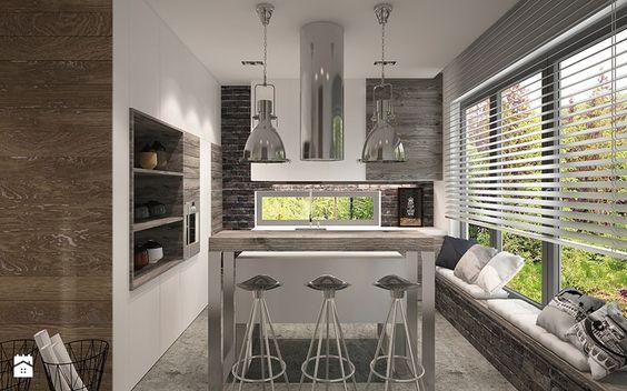 Aranżacje wnętrz - Kuchnia: SOFT LOFT - Ludwinowska Studio Architektury. Przeglądaj, dodawaj i zapisuj najlepsze zdjęcia, pomysły i inspiracje designerskie. W bazie mamy już prawie milion fotografii!