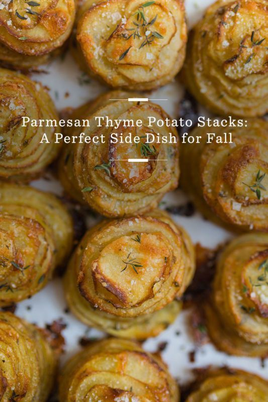 Parmesan Thyme Potato Stacks: A Perfect Side Dish for Fall / eBay