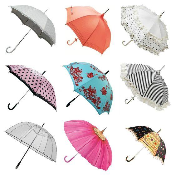 Guarda-chuva: prevenção necessária.