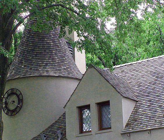 Ludowici Flat Shingle Clay Tile Roof Playing House