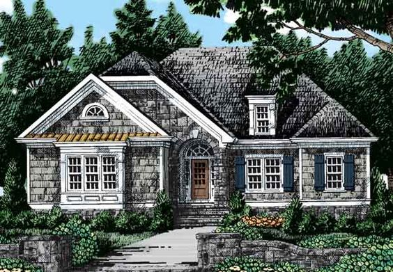 The Maples House Plans And Southern Living On Pinterest