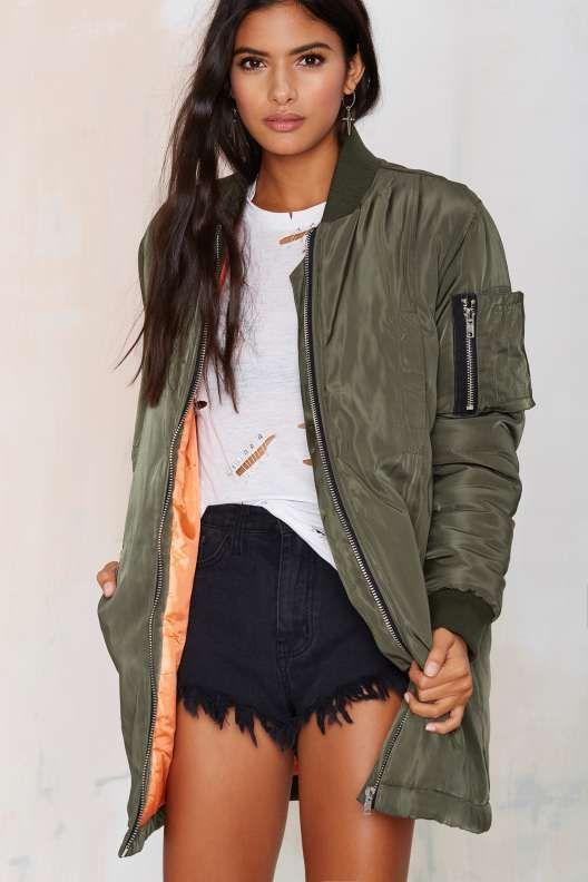 Army of One Bomber Jacket: