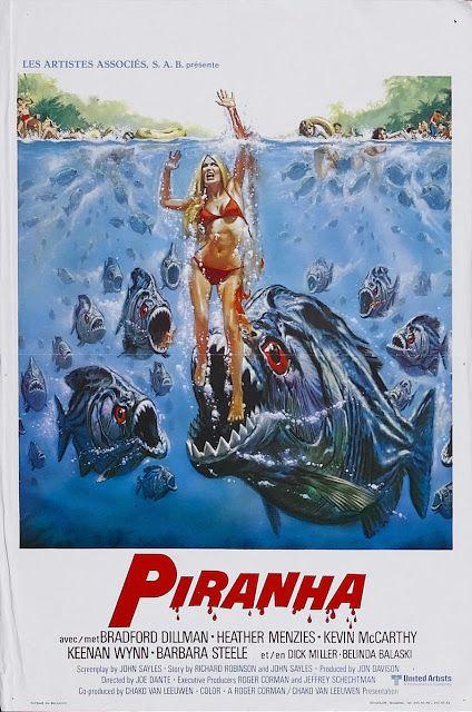 Piranha - 1978 - Dublagem Clássica - Rmz ~ ADORO FILMES DE TERROR